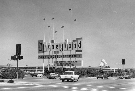 Disneyland in the 50's and 60's
