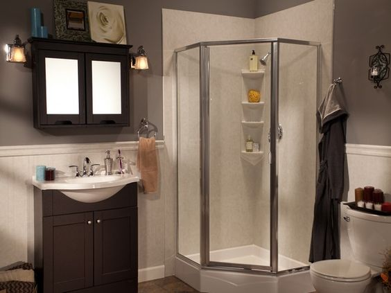Corner Neo Angle Showers For The Home Pinterest Neo Angle Shower Showers And Angles