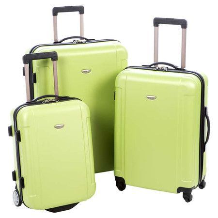 Whether you're packing for the whole family or taking a solo weekend sojourn, this set of rolling luggage is ideal for all your travels. Showcasing hardshell...