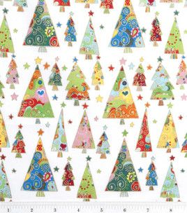 Christmas Fabric, I never realized you can order fabric online through Joann.com, 40% of christmas prints right now
