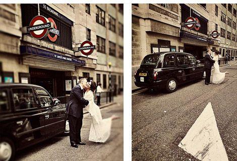 Vintage London Wedding