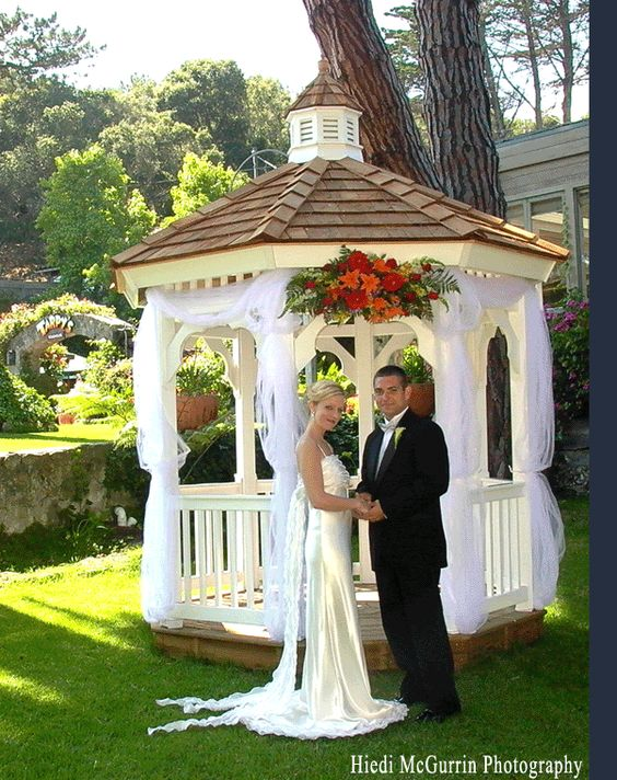Tarpy S Weddings Outdoor Gazebo Garden Wedding