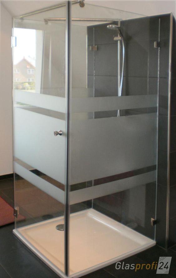 U Form Dusche Aus Glas Mit Edelstahl Beschlagen Sie Konnen Ihre