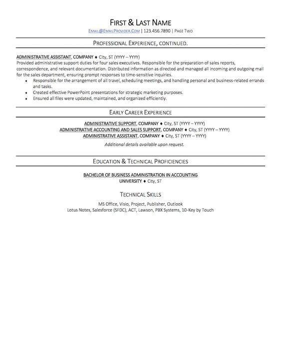 Resume Sample Good ideas Pinterest Resume examples - lotus notes administration sample resume