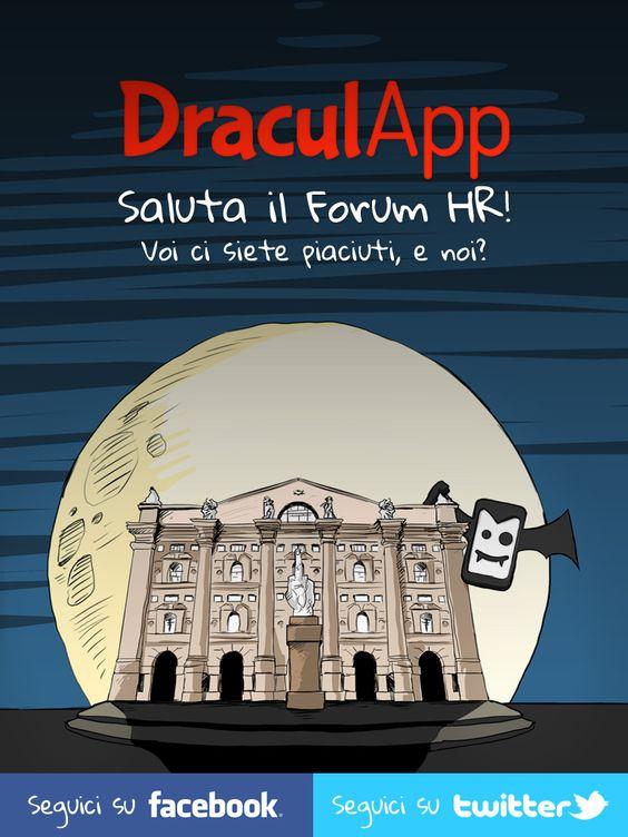 DraculApp saluta il Forum HR!