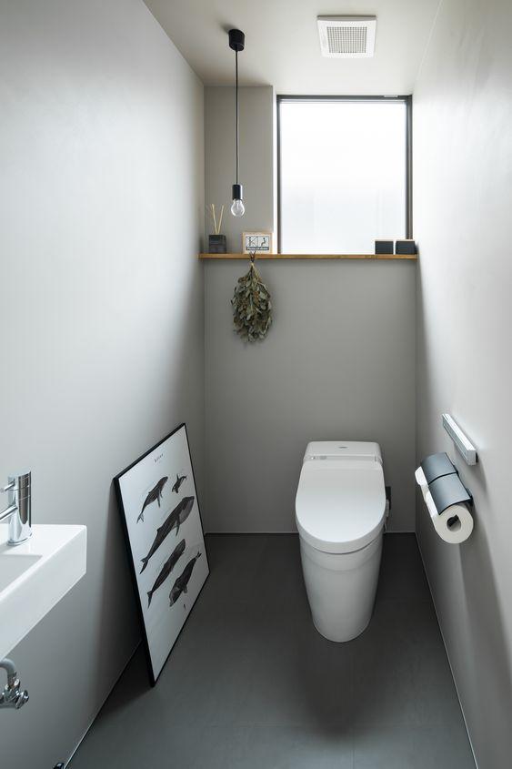 塩系インテリア トイレ コーディネート例 サンプル 画像