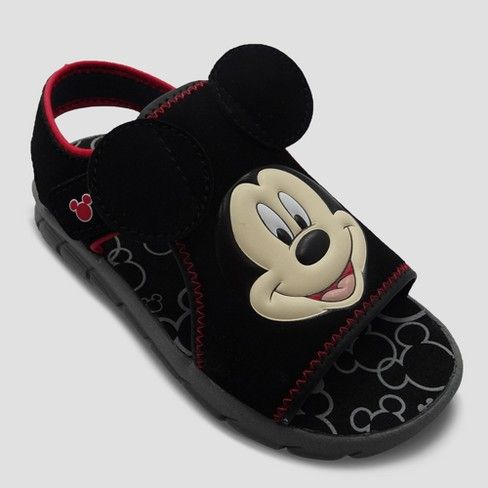 ears! Mickey Mouse Footbed