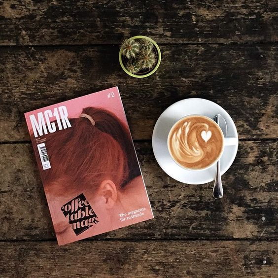 "@coffeetablemags's photo: ""Good morning Thursday! Hello MC1R – The Magazine for Redheads – Issue 2. Now in our shop! #mc1r #mc1rmagazine #coffeetablemags"""