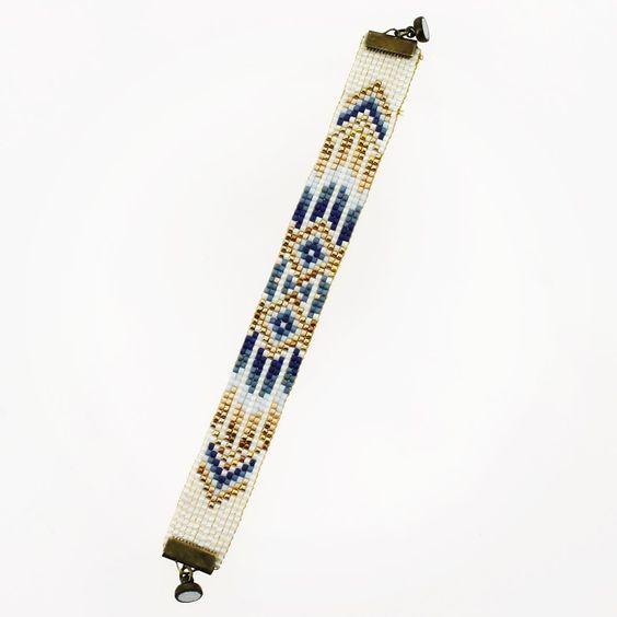 #bracelet #tissage #perles