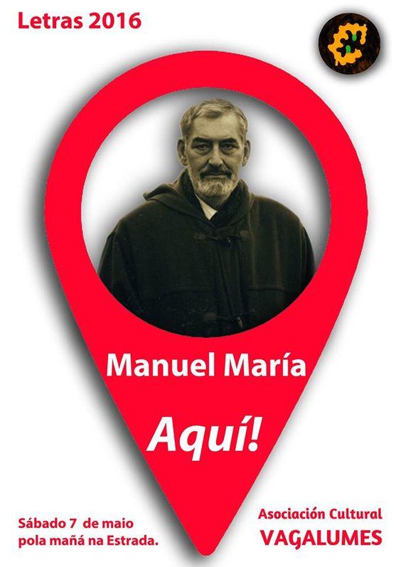 Carta Xeométrica: Manuel María. Aquí!:
