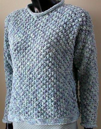 Chenille Knitting Patterns : Sweatshirts, Cotton and Knits on Pinterest