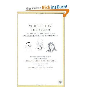 Voices from the Storm: The People of New Orleans on Hurricane Katrina and Its Aftermath (Voice of Witness) - Lola Vollen, Chris Ying: Englische Bücher