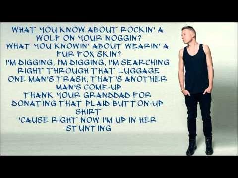 macklemore thrift macklemore ryan shop lyrics feat wanz lewis thrift