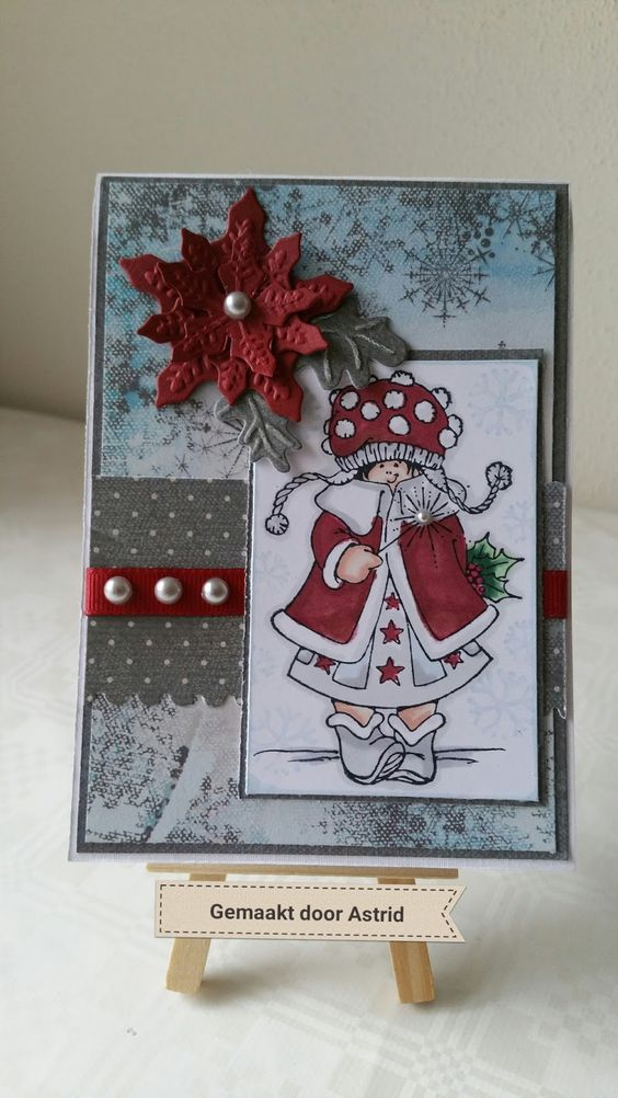 crea-scrap-card: Kerst pop up kaart