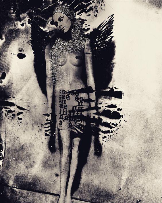 """Angel ..."" by Peter Sebastian #mixed #media"