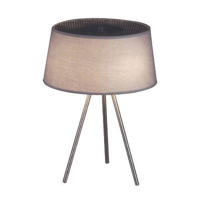 "dCOR design Tracy 20"" H Table Lamp with Empire Shade"