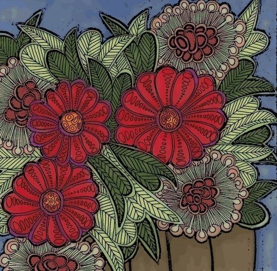 brown vase archival print. $18.00, via Etsy.