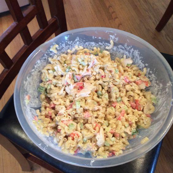 First pasta salad of the season