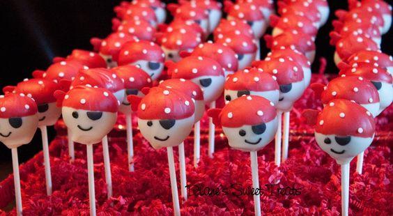 Pirate cake pops - Diane's Sweet Treats, Newington CT