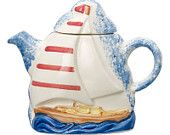The 'Sailing Boat' one-cup Teapot