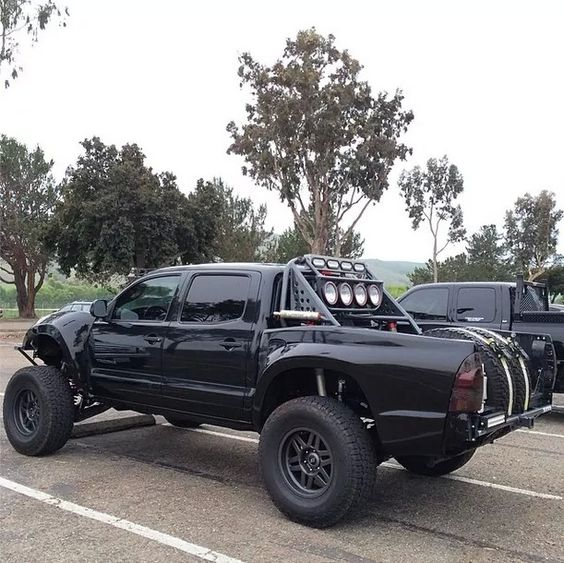 murdered out prerunner big trucks what pinterest runners style and toyota. Black Bedroom Furniture Sets. Home Design Ideas