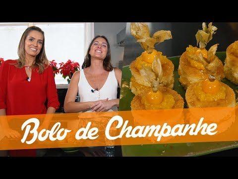 Bolo De Champanhe Da Karyn Bravo Carol Fiorentino Youtube