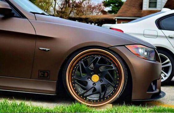 BMW E92 3 series matte brown