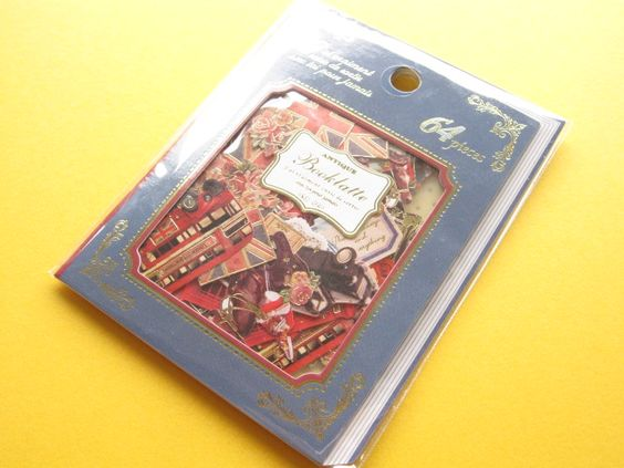 Classic Sticker Flakes Sack Antique Booklatte *United Kingdom Q-LiA (71406)
