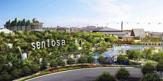 Sentosa - địa điểm xanh của Singapore