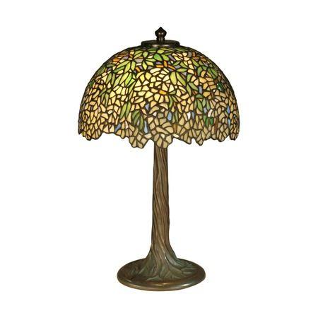Tiffany Tree Table Lamp Reproduction