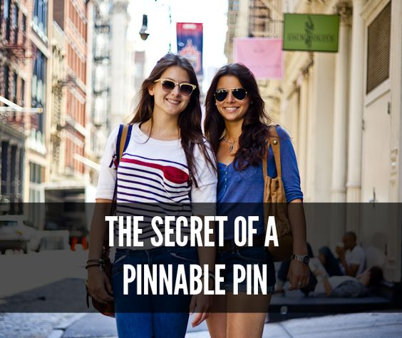 Make you pins extra sticky with these tips!