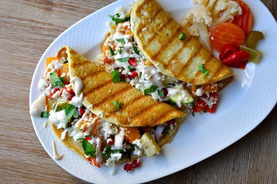 roasted veggie pita recipe