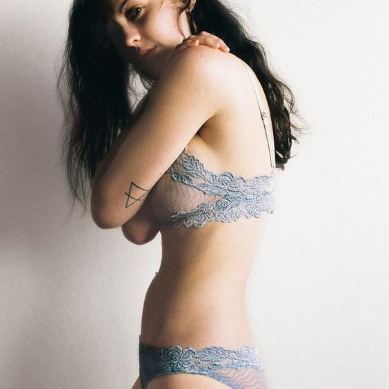 The Bonnie Bra and Brief by Lonely label.