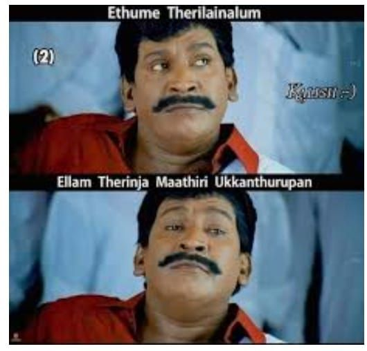 Funny Vadivelu Memes Free Download Thewideinfo In 2021 Vadivelu Memes Comedy Memes Popular Memes