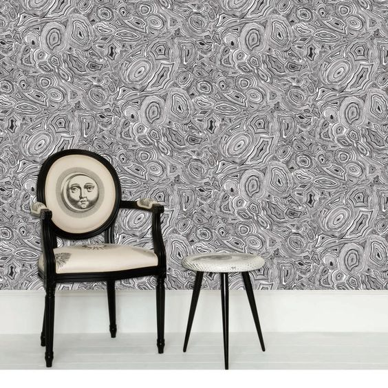 Fornasetti Malachite Wallpaper | Houseology: