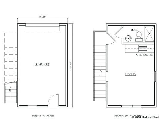 Garage Conversion Floor Plans One Car Garage Apartment Plans Large Size Detached Garage Conversion Floor Plans