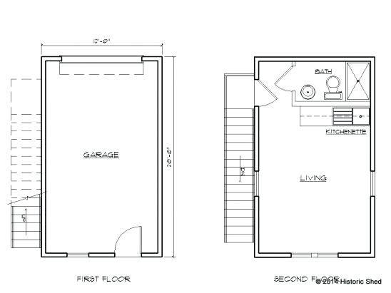 Garage Conversion Floor Plans One Car Garage Apartment Plans Large Size Detached Garage Conversion Floor Plans