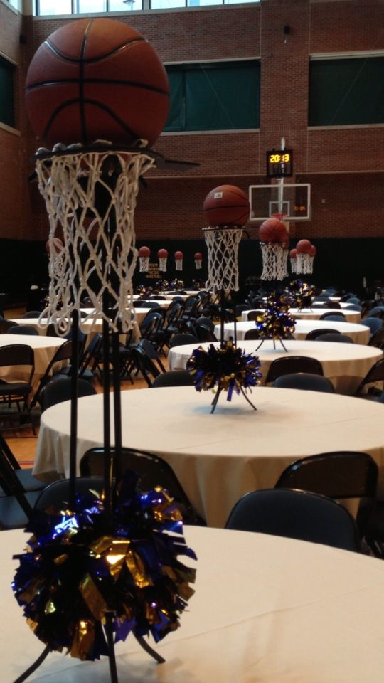 Unique basketball centerpieces themes we love sports