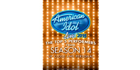 AMERICAN IDOL® LIVE! returns this summer with an unprecedented 14th consecutive national tour.   AMERICAN IDOL® LIVE! will give fans an opportunity to get up close and personal with the Top 5 Idols from Season 14.  Our Top 5 will showcase their individual