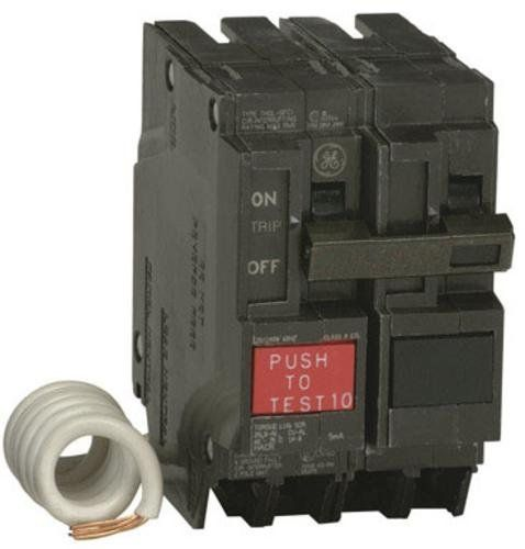 Ge Thql2120gfp Double Pole Breaker Ground Fault Circuit 20 Amp Breakers Circuit Gfci