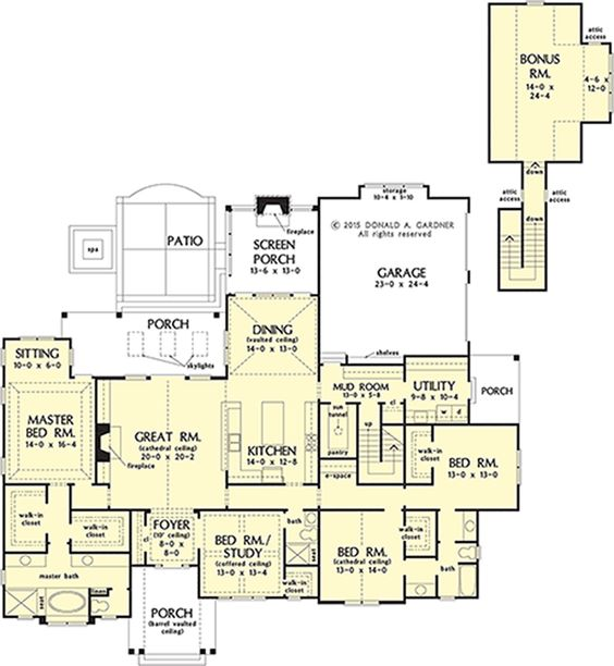 Home Plan 1370 Now Available A Well The Closet And House