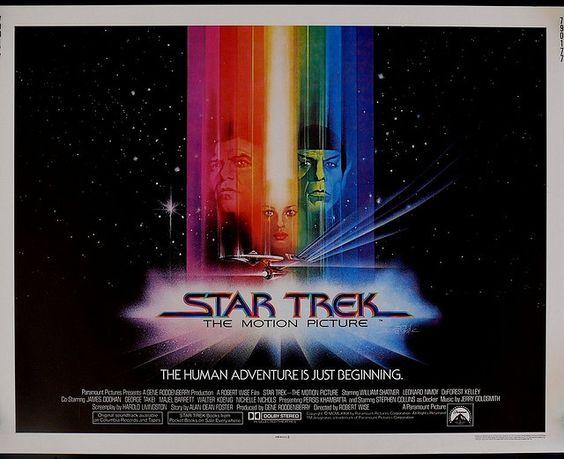 Star Trek The Motion Picture half sheet movie poster