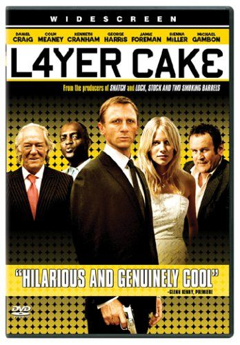 "Layer Cake - ""You're born, you take shit. You get out in the world, you take more shit. You climb a little higher, you take less shit. Till one day you're up in the rarefied atmosphere and you've forgotten what shit even looks like. Welcome to the layer cake son.""  (Tom Hardy is in this too.)"