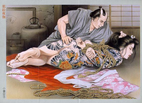Japanese tattoo painting 17