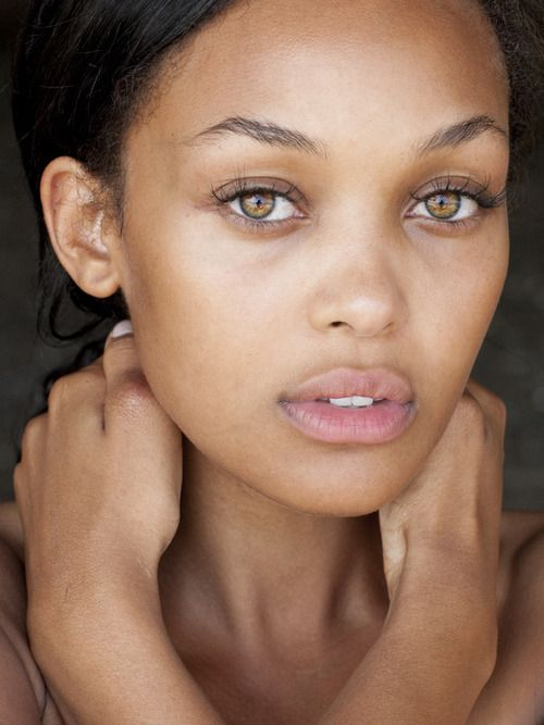 Stunning fresh face, very little makeup to achieve this ...