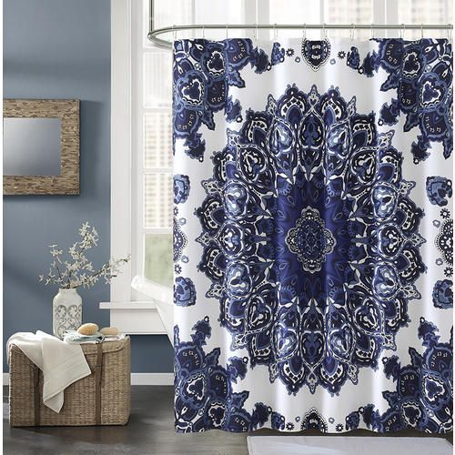 Essential Home Willow Shower Curtain Medallion Sears Fabric
