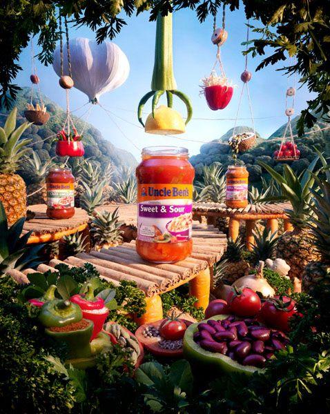 serie de fotos ejemplos comida