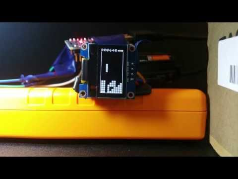 This Instructable Is About Getting Tiny Tetris Running On A 128x64 Oled Display Using An Arduino Nano Or Uno Arduino Gps Arduino Gps