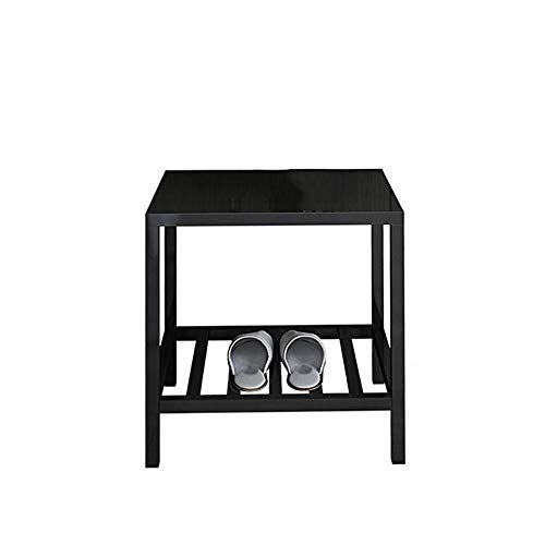 Wrought Iron Bedside Table Nordic Light Luxury Hotel Apartment