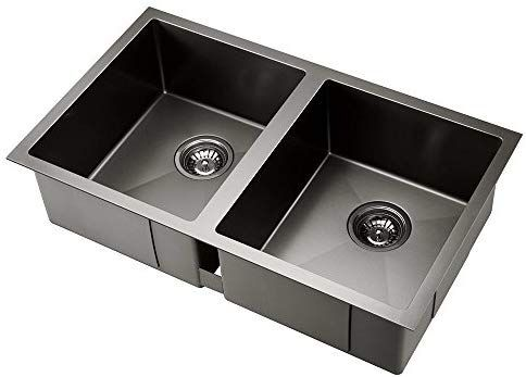 190 Cefito 770 X 450mm Stainless Steel Sink Black Amazon Com Au Home Improvement Stainless Steel Sinks Sink Stainless Sink